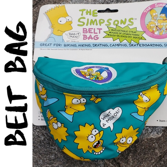 Handbags - NOVELTY THE SIMPSONS BELT BAG